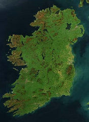 Ireland - Satellite photo