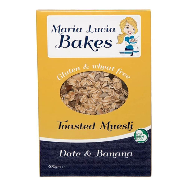 Maria Lucia Bakes Gluten Free Date and Banana Toasted Muesli 400g