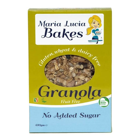 Maria Lucia Bakes Gluten Free 'no added sugar' Granola 400g