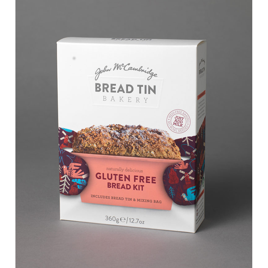 McCambridge Bread Tin Bakery Gluten Free Bread Kit 360g