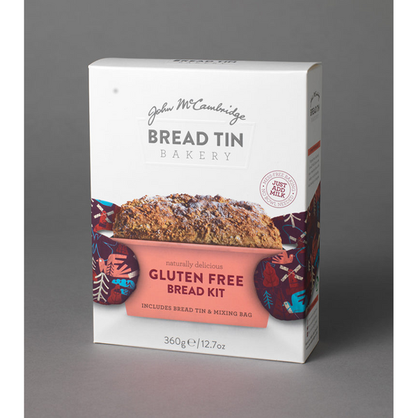 McCambridge Bread Tin Bakery Gluten Free Bread Kit 360g $9.50