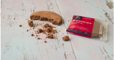 Foods of Athenry Gluten free Chocolate & Raspberry Cookie 60g $3.25