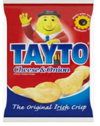Tayto Cheese & Onion Crisps 40g