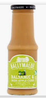 Ballymaloe Balsamic & Irish Apple Cider Vinegrette 250ml $6.50