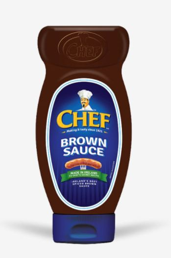 CHEFS Brown Sauce Squeezy Bottle 8.00SGD