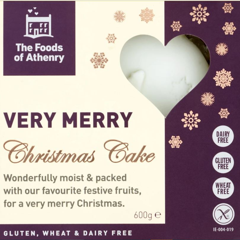 Christmas Cake - Foods Of Athenry Very Merry Christmas Cake 600g - 22.00 sgd