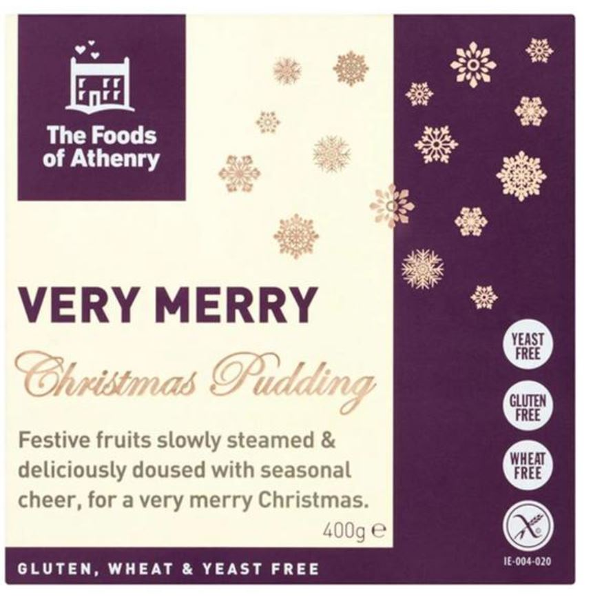 Christmas Pudding - Foods Of Athenry Very Merry Christmas Pudding 400g - 22.00 sgd