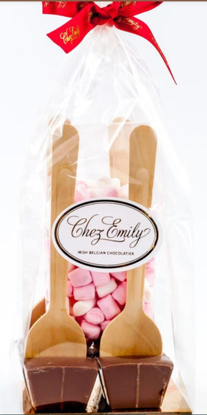 Chez Emily Hot Chocolate Swirl & Marshmallow Gift Set - 20.00SGD