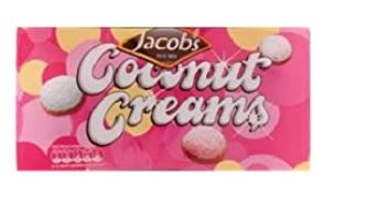 JACOBS COCONUT CREAMS 200g
