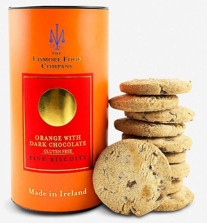 The Lismore Food Co. Gluten Free Orange with Dark chocolate Biscuits150g $12.90