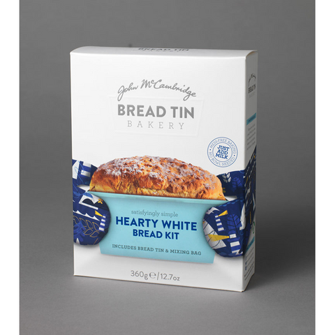 McCambridge Bread Tin Bakery Hearty White Bread Kit 360g