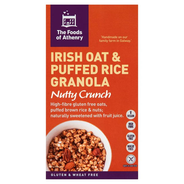 Foods of Athenry Gluten Free Nutty Crunch Granola 300g $14.40