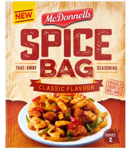 McDonnells Spice Bag Classic Flavour Seasoning Mix 40g