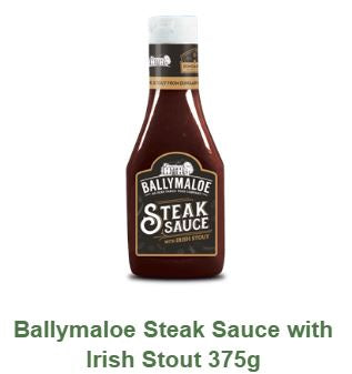 Ballymaloe Steak Sauce with Irish Stout 375g $9.90