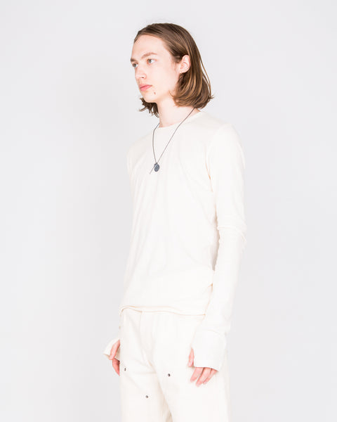 Natural Long Sleeve Drifter Top