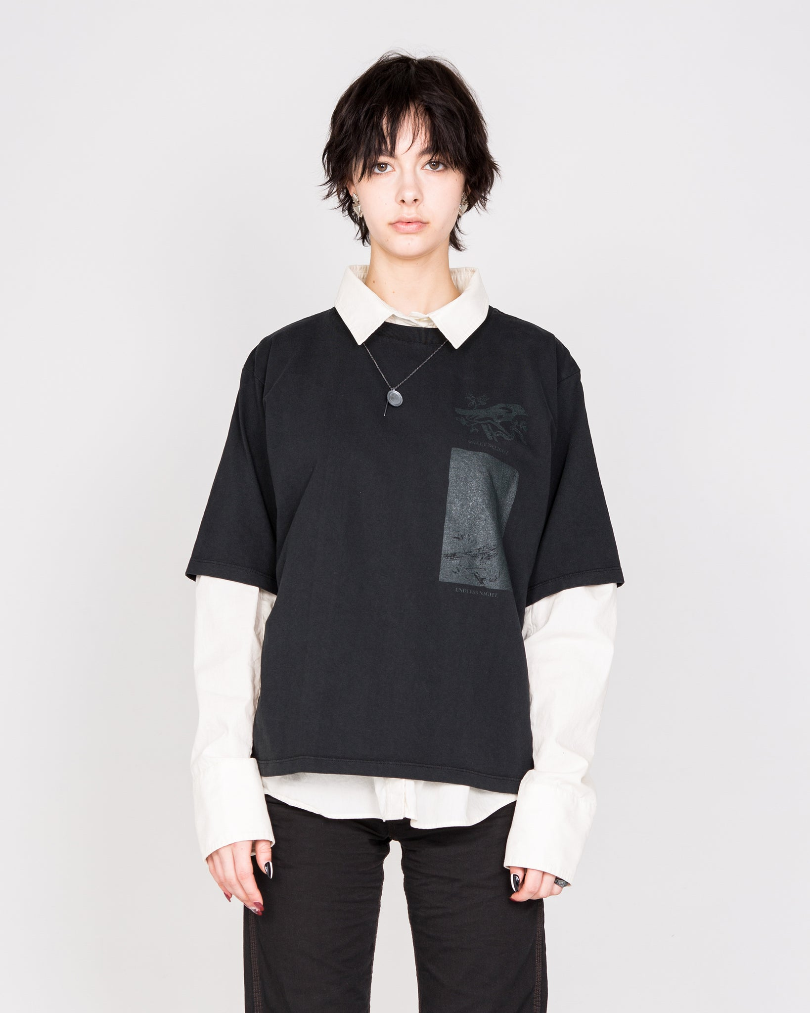 """Endless Night"" Oversized T-Shirt"