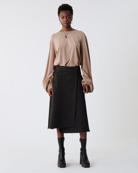 Canvas Wrap Skirt