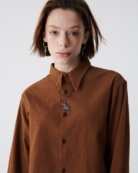 Amber Crinkled Shirt