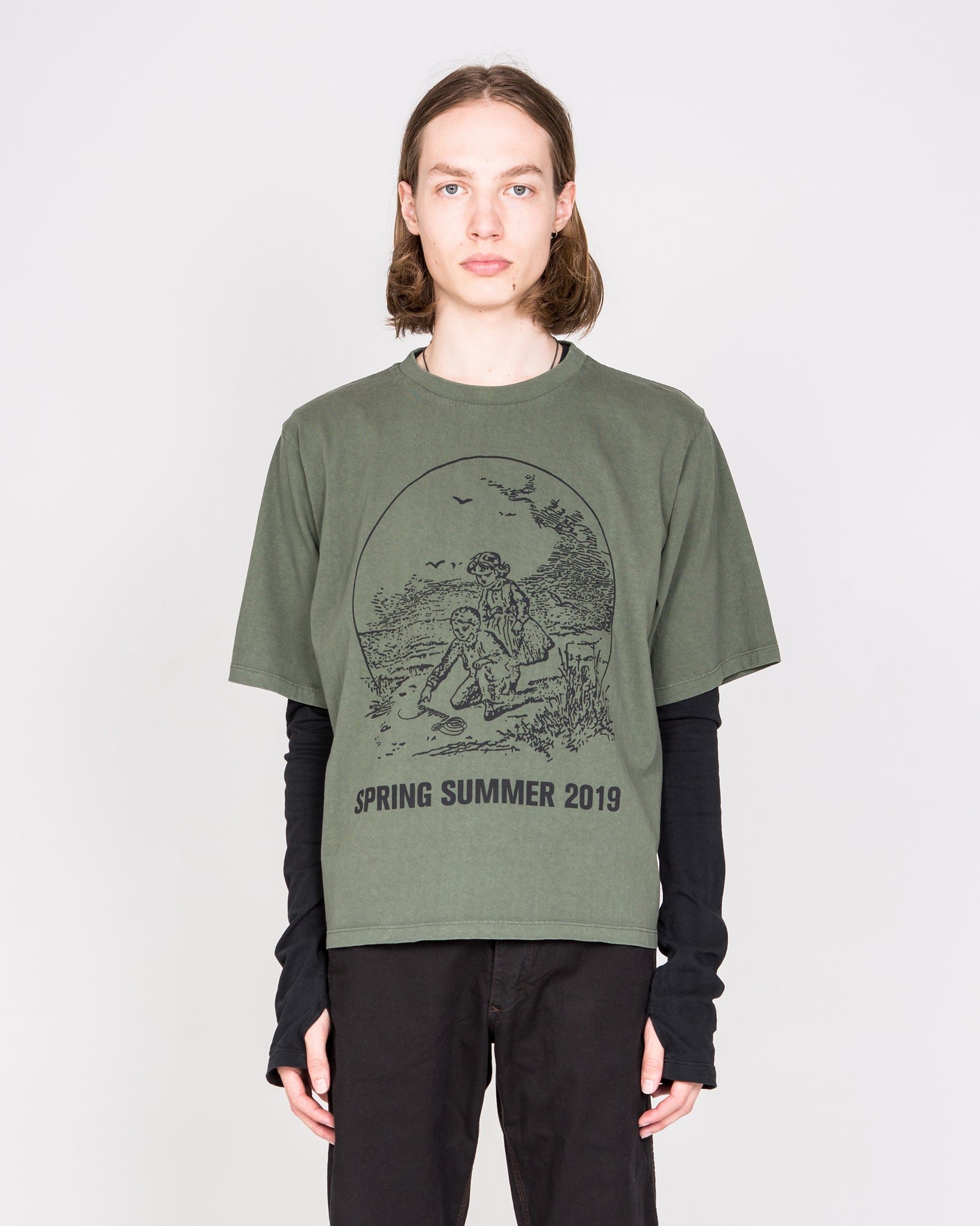 """Spencerian"" Oversized T-Shirt"