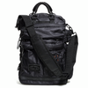 Techno Bag, MA-1, 11 litre laptop bag, shoulder bag, Impact Protection, leather, ballistic nylon - DPOOLE