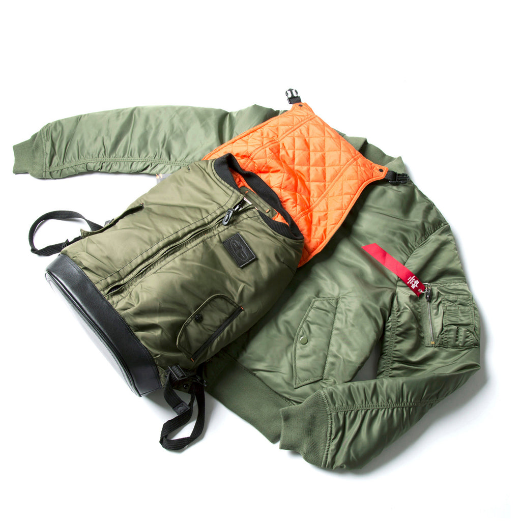 MA-1 Jacket Bag - DPOOLE