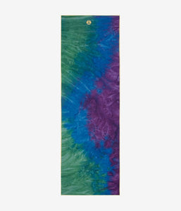 yogitoes® yoga towel - peacock