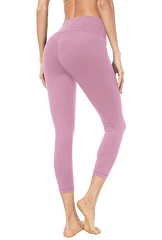 Queenie Ke Women Yoga Capris Leggings - Pink