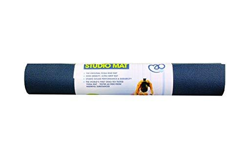 Yoga-Mad Studio Yoga Mat Blue
