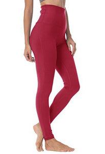 Queenie Ke Women Yoga Leggings - Rose Red