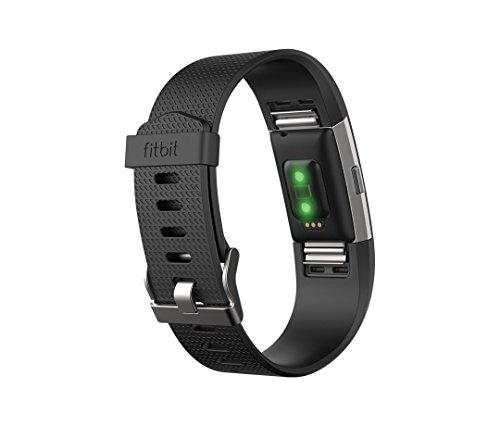 Fitbit Charge 2 Activity Tracker - Black/Small