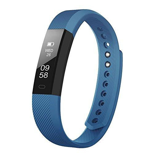 Letscom Blue Fitness Tracker Watch