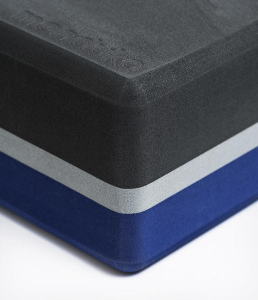 Recycled Foam Yoga Block - Charcoal