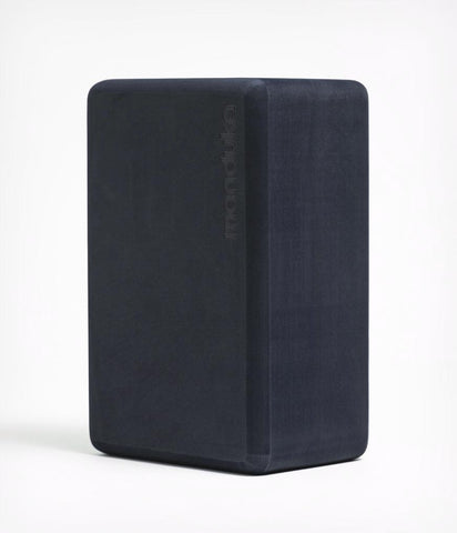 Recycled Foam Yoga Block - Midnight