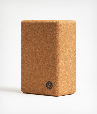 Manduka Best Cork Yoga Block