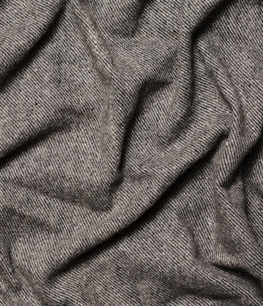 Manduka Recycled Wool Blanket Sediment