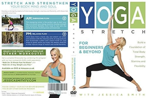 Yoga Stretch for Beginners and Beyond with Jessica Smith DVD