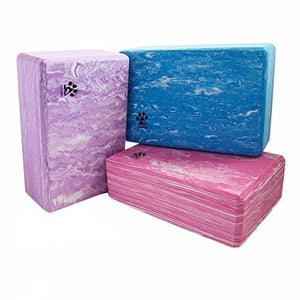Yogi-bare yoga block - strong / firm / lightweight EVA foam support block