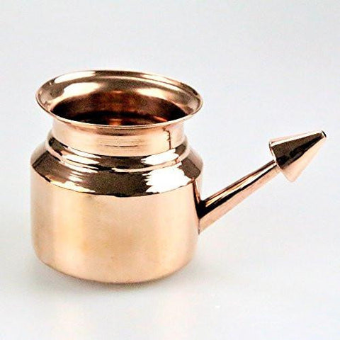 Copper Neti Pot For Nasal Irrigation