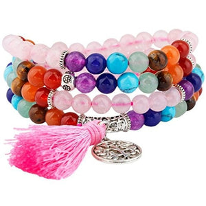Shanxing 108 Prayer Beads Mala Bracelet