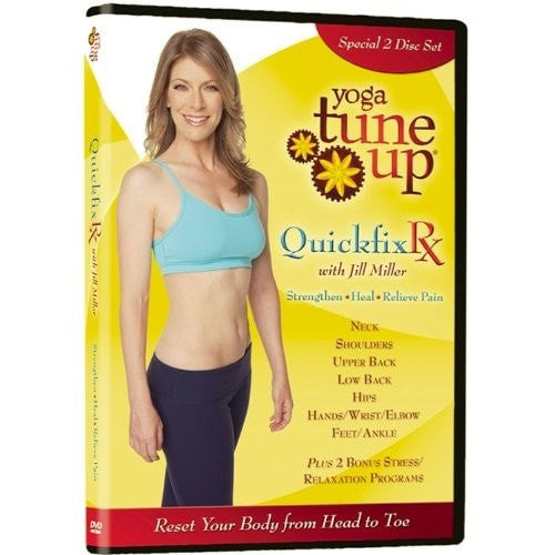 Yoga Tune Up Quickfix Rx Upper And Lower Body DVD