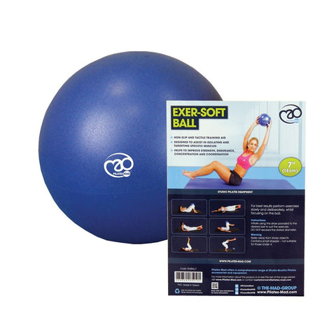 Pilates 7'' Exer-Soft Ball - Blue