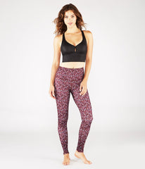 Manduka High Line Yoga Leggings - Adaptation Print