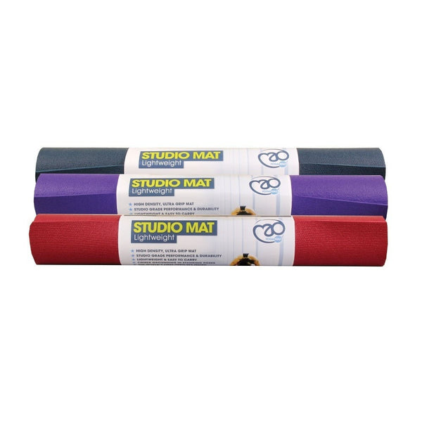 Studio Yoga Mat Lightweight - 3mm