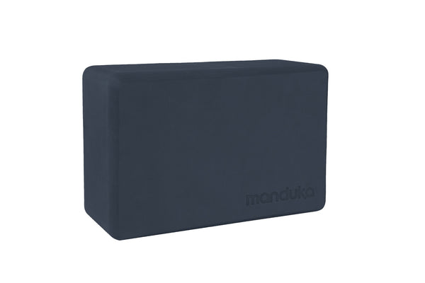Manduka Foam Yoga Blocks Midnight