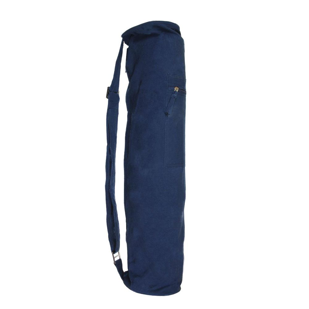 Yoga Mad Jute Yoga Bag Blue