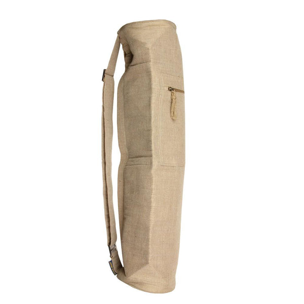 Yoga Mad Jute Yoga Bag Natural