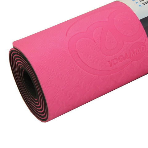yoga-mad evolution yoga mat pink