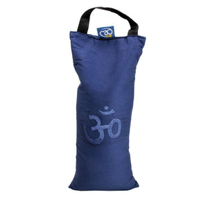Yoga Mad OM Shingle Yoga Sand Bag Blue