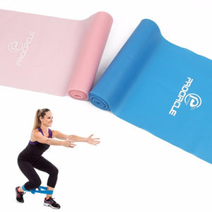 PROCIRCLE 2PCS/SET Yoga Stretch Resistance Exercise Fitness Band
