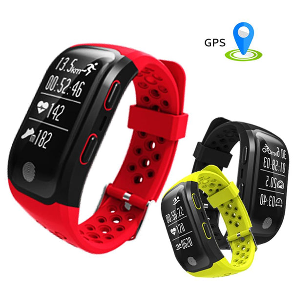 S908 GPS Smart Band Heart Rate Wristband